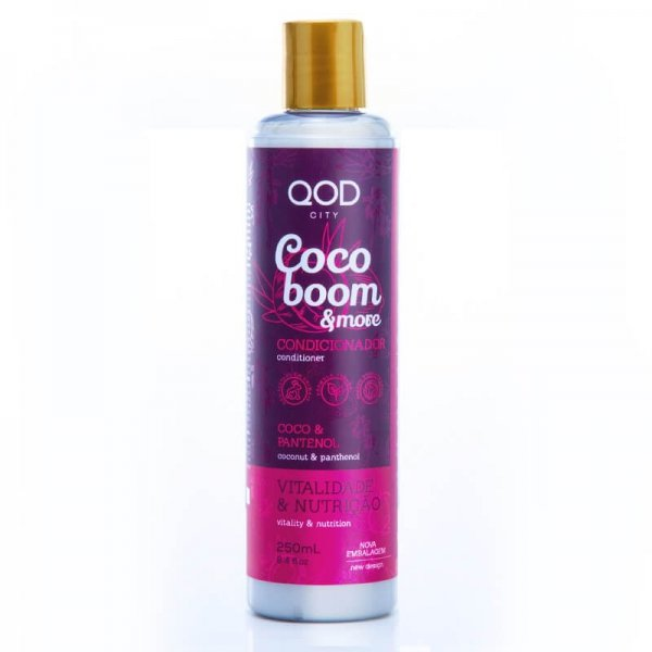 QOD City Coco Boom & More Hair Conditioner 250ml