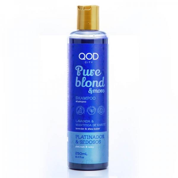 QOD City Pure Blond & More Hair Shampoo 250ml